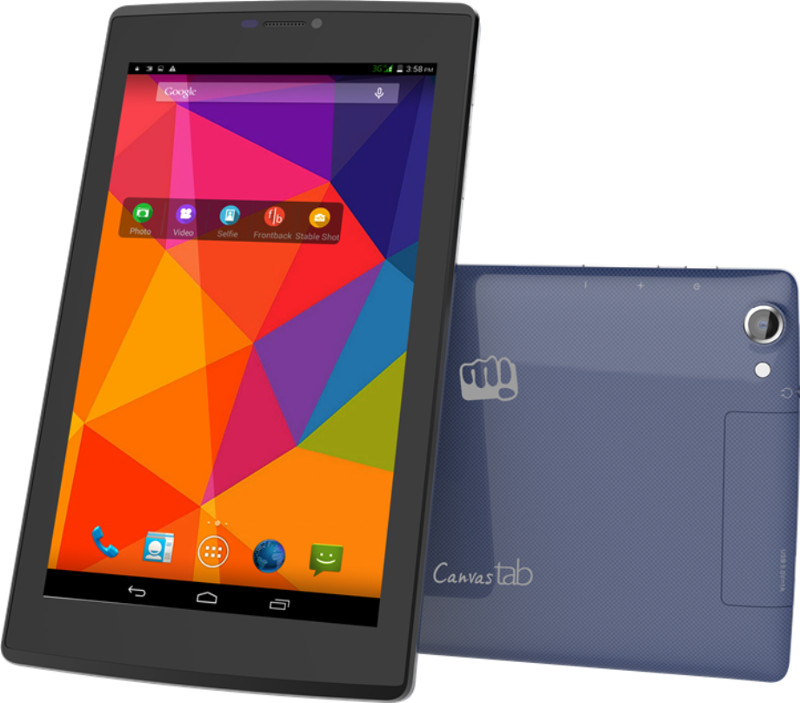 """Micromax Canvas Tab P480 image"""