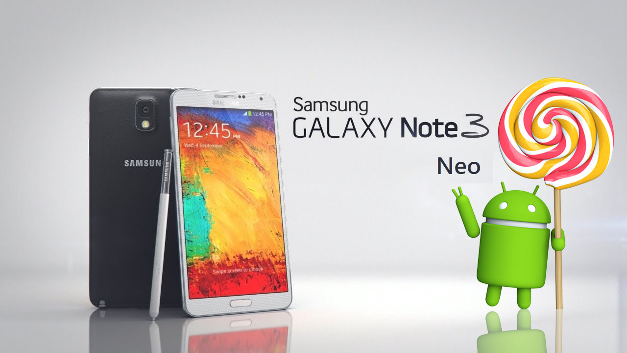 """Samsung Galaxy Note 3 Neo Lollipop update"""