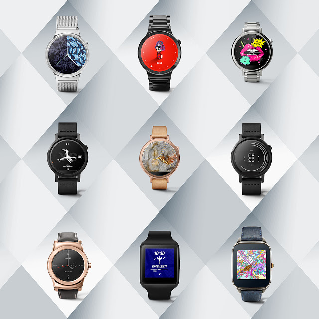 """AndroidWear new Watch Faces"""