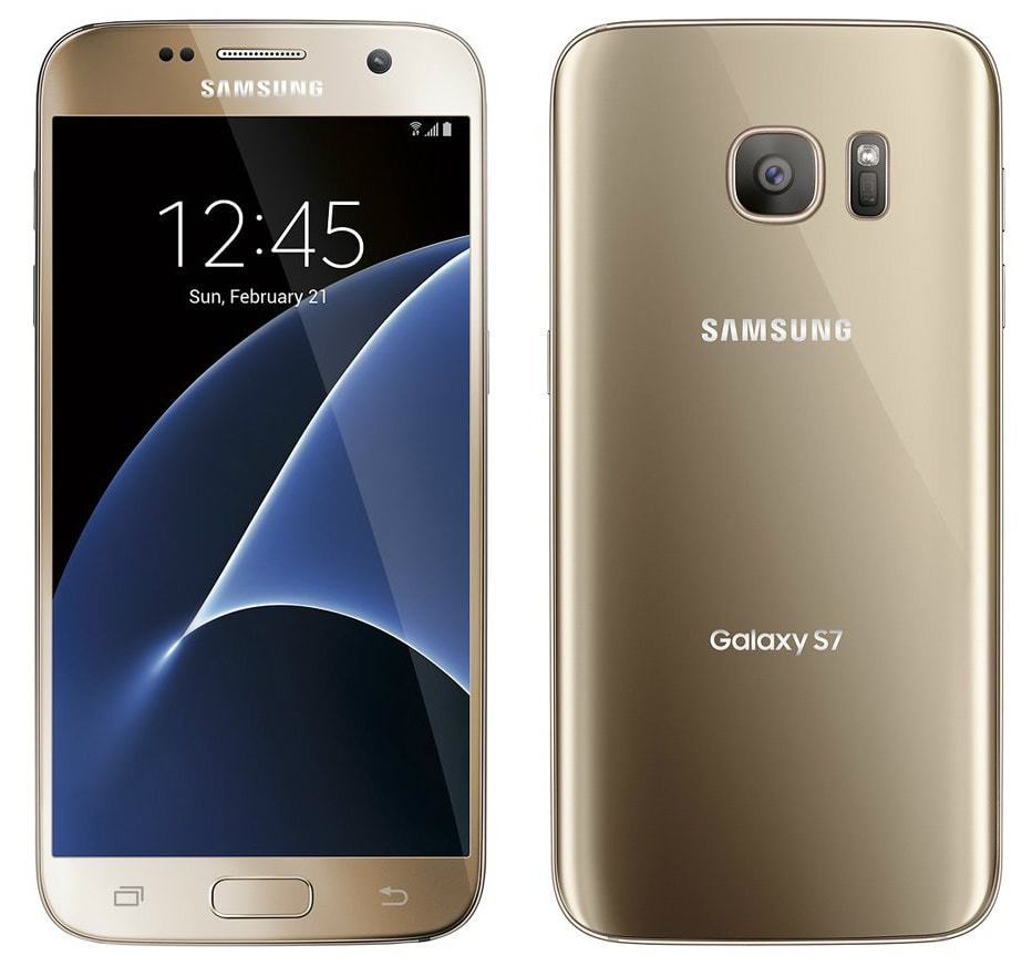 samsung galaxy s7 32gb sm g930a gold platinum at t new w