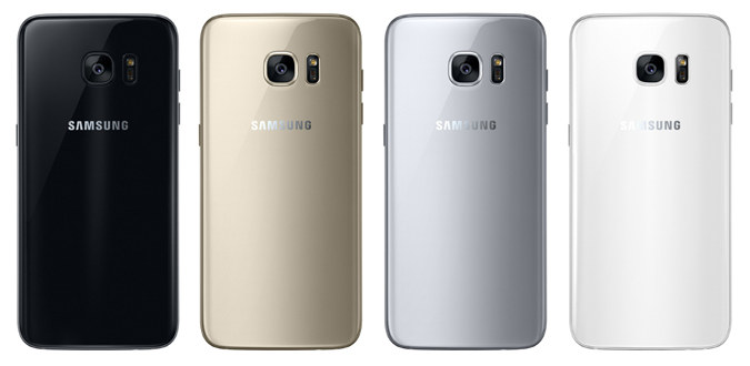 """Samsung Galaxy S7 colors"""