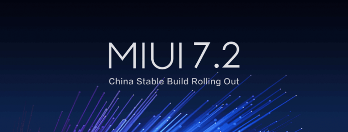 """MIUI 7.2 China stable build"""