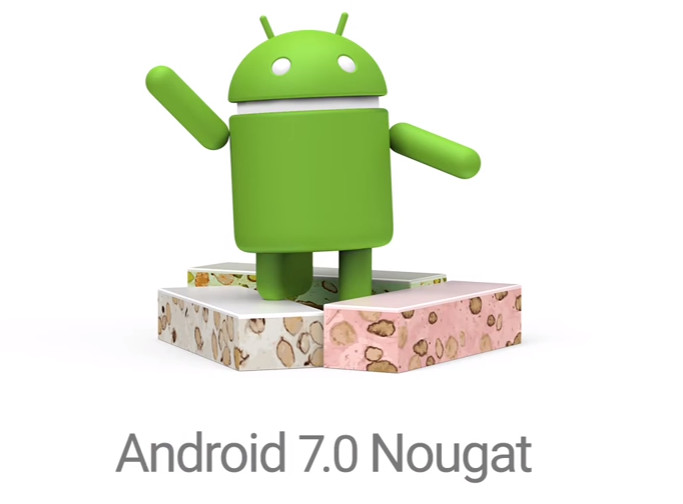 """Android 7.0 Nougat"""