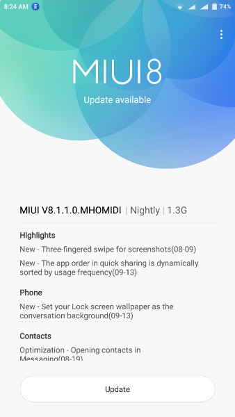 """Xiaomi Redmi Note 3 MIUI 8.1.1.0 Global Stable Beta Android 6.0 Marshmallow"""