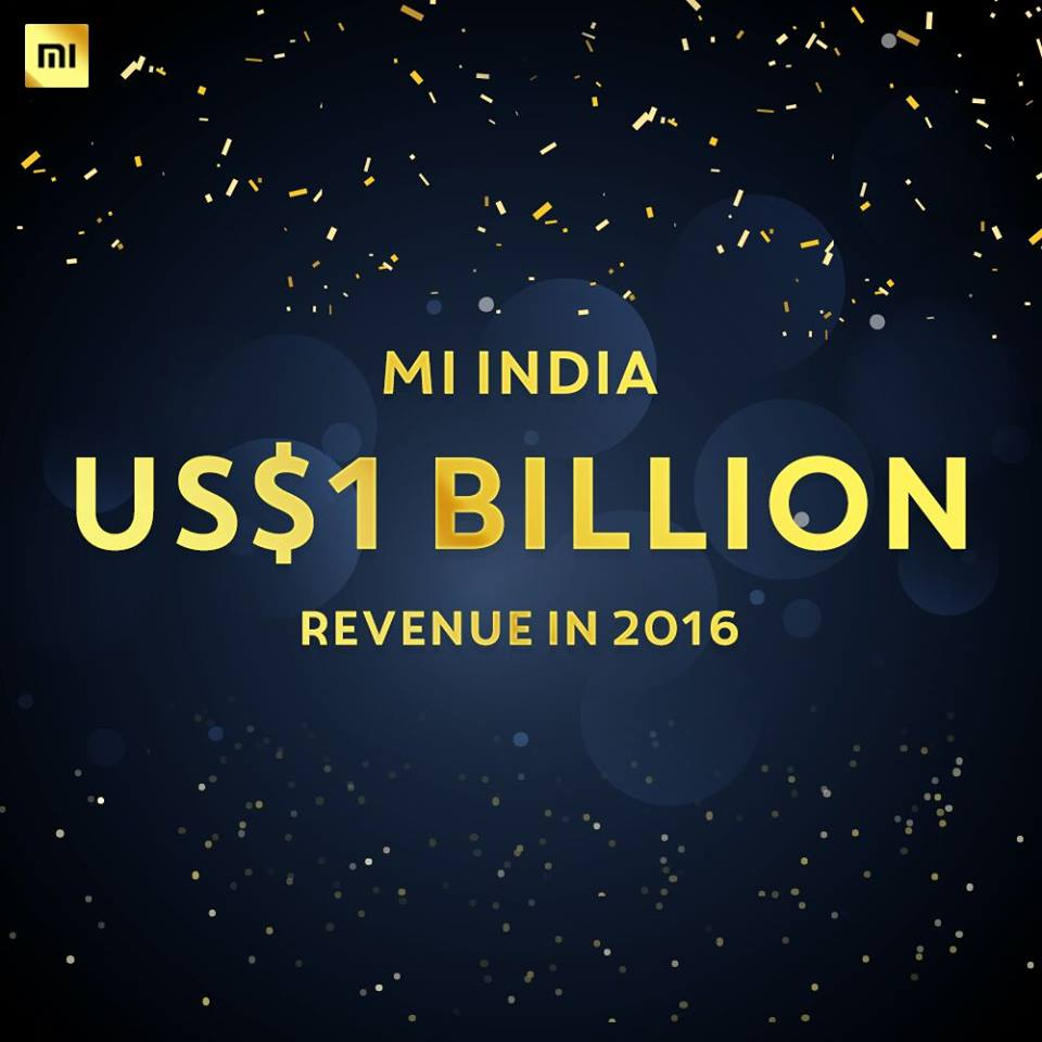 """Xiaomi India achievement"""