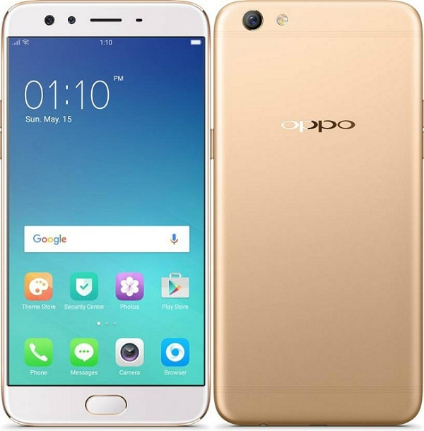 """Oppo F3 Plus Gold color"""