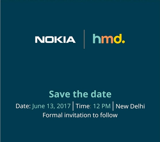 """Nokia HMD India launch invite"""