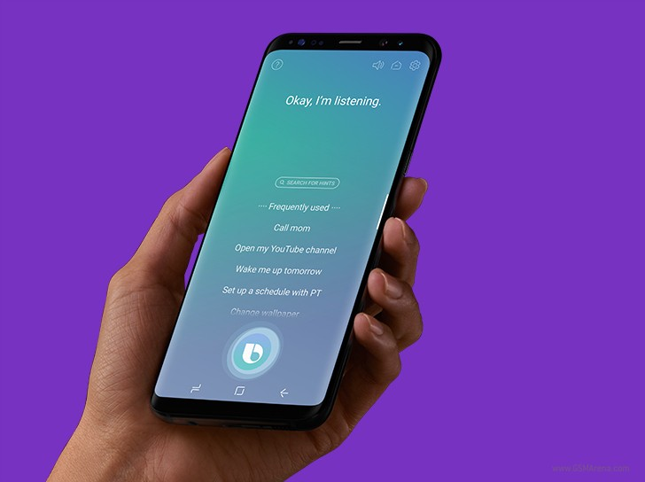 """Samsung Bixby voice assistant"""