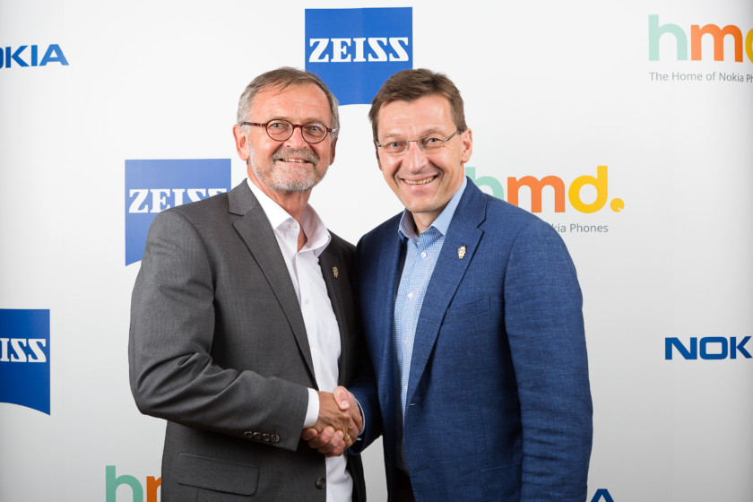 """""""HMD Global and ZEISS partnership"""""""